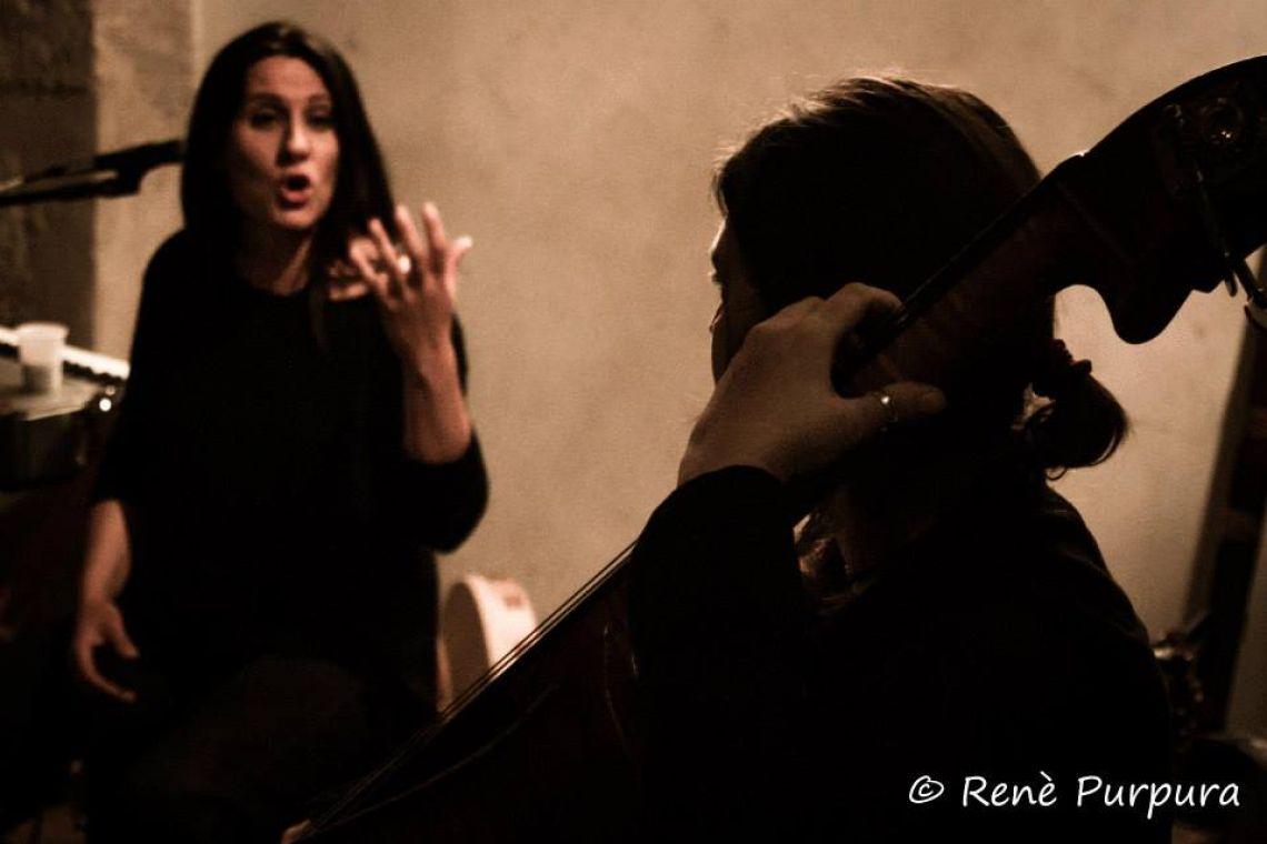 VALERIA CIMO- Voice ROMINA DENARO- Bass 'TERRAMADONNA'