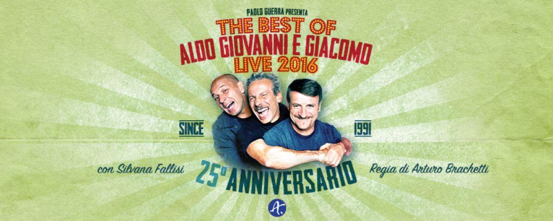 THE BEST OF ALDO GIOVANNI E GIACOMO - LIVE 2016